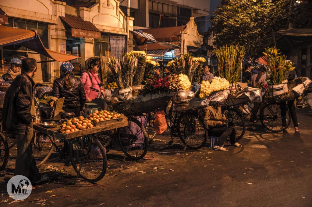 També podem veure venedors amb bicicletes per tot arreu