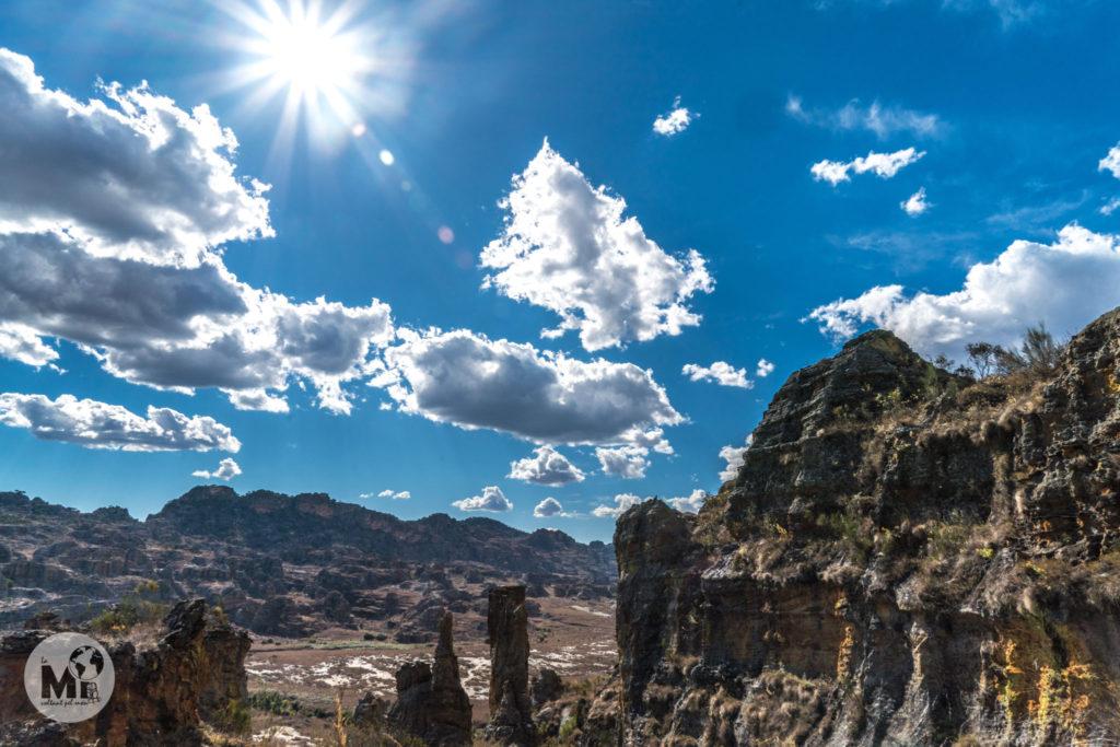Les vistes del parc natural de Isalo son absolutament espectaculars